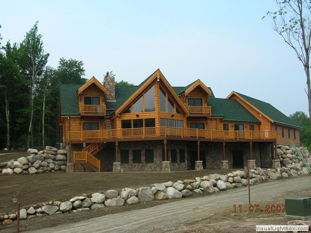 Photo gallery client homes for Home builders in new hampshire