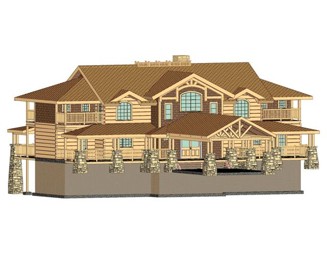 Desgin pack from new hampshire log homes Log homes in new hampshire