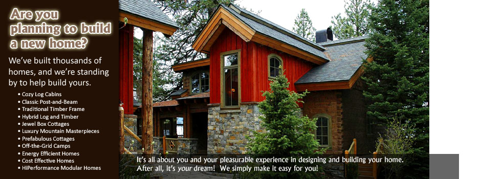Natural Element Homes: Log Cabins, Log Homes, Timber Frame